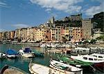 The harbour at Portovenere,Liguria,Italy