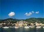 Station balnéaire de Rapallo, Ligurie, Italie