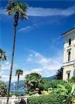 Bellagio, le Grand hôtel et jardin, Lombardie, Italie