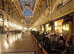 People in Galleria Vittorio Emanuele II,Milan,Italy