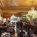Main bar area of Caffe Torino,Turin,Italy