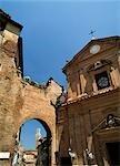 Torre del Mangia and skyline,Siena,Tuscany,Italy