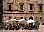 Cafe,San Gimignano,Tuscany,Italy