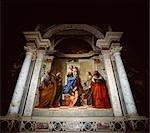 Belini's Madonna and child.,Venice,Italy
