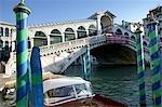 Venice,Italy. Morning light on the Rialto Bridge