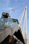 Hungerford Bridge,London,England,UK