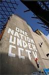 Political grafitti,Newman Street,Oxford Street area,London,England,UK