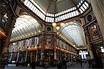 Covered Victorian arcade,Leadenhall Market,City,London,England,UK