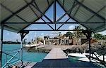 Un hangar à Paradise Cove Resort, Ile Maurice