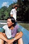 REJANG RIVER,A KAPIT SARAWAK,BORNEO,MALAYSIA