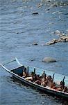 Rejang River, un Kapit, Sarawak, Bornéo, Malaisie