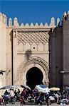 Market held at Gate Bab ech Chorfa,Fez,Morocco