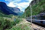 Chemin de fer de montagne côte ouest, Fjords, Fram, Norvège