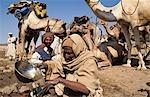KABABISH TREATMENT COLLECTING WATER,DARFUR SUDAN