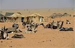 Scène de village désert, N. Darfour Malha
