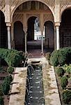 Generalife,Alhambra,Granada,Andalucia,Spain