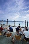 Outdoor bar,Bar M,Ibiza,The Balearic Islands,The Balearics,Spain