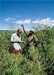 Parc Raner et scientifique, Land de Savannah, Tanzanie