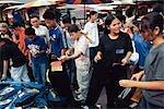Marché du week-end de Chatuchak, nord de Bangkok, Thaïlande