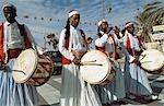 Tunisian folk musicians,Douz,Tunisia