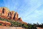 Red rock formations,Sedona,Arizona,USA