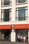 People windowshopping along Gold Coast shopping district,Chicago,Illinois,USA