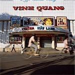 Front de cinéma, Ho Chi Minh ville, Vietnam