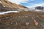 Inuit Archaeological Site, Craig Harbour, Ellesmere Island, Nunavut, Canada