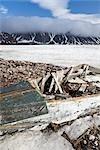 Abandoned Rowboat, Craig Harbour, Ellesmere Island, Nunavut, Canada