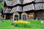 Borgund Stave Church, Borgund, Sogn og Fjordane, Norvège