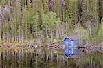 Fischerhütte, Borge-Fjellet, Norwegen