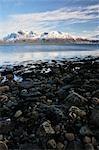 Ofotfjorden, in der Nähe von Narvik, Norwegen