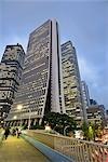Nishi Shinjuku, quartier de Shinjuku, Tokyo, région de Kanto, Honshu, Japon
