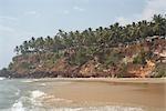 Varkala Beach, Varkala, Kerala, India