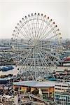 Grande roue au Port Nagoya, préfecture d'Aichi, Chubu, Japon