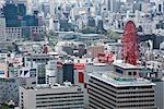 HEP Five Ferris Wheel, Umeda, Kita-ku, Osaka, Kansai, Japan