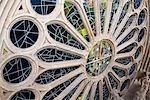 Augmenté de fenêtre, La Sagrada Familia, Barcelone, Catalogne, Espagne
