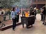Yong il Gong, le plus grand temple bouddhiste (Dalai) à Beijing, Chine