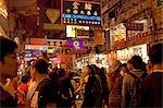 Busy Perceival Street, Causeway Bay, Hong Kong