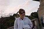 Jeune fille à Harajuku, Tokyo, Japon
