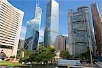 Central skyline, Hong Kong