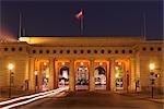 Palais impérial Hofburg pendant la nuit, Vienne, Autriche