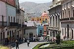 Plaza de la Paz in Guanajuato, a UNESCO World Heritage Site, Guanajuato, Guanajuato State, Mexico, North America