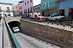 Famous tunnels of Guanajuato, a UNESCO World Heritage Site, Guanajuato State, Mexico, North America