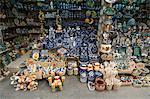 In the artisans market, San Miguel de Allende (San Miguel), Guanajuato State, Mexico, North America