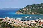 Skopelos Town, Skopelos, Iles Sporades, îles grecques, Grèce, Europe