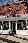 La célèbre American Hotel, Sag Harbor, The Hamptons, Long Island, New York État, États-Unis d'Amérique, Amérique du Nord