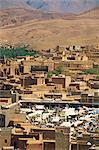 Marché, Boulmane du Dadès, Maroc, Maghreb, Afrique