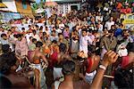 Roadside festival, Kerala state, India, Asia