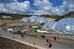 Eden-Projekt in St. Austell, Cornwall, England, Vereinigtes Königreich, Europa